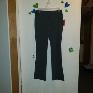 NWT Candie's Perfect Bootcut Pants in Grey